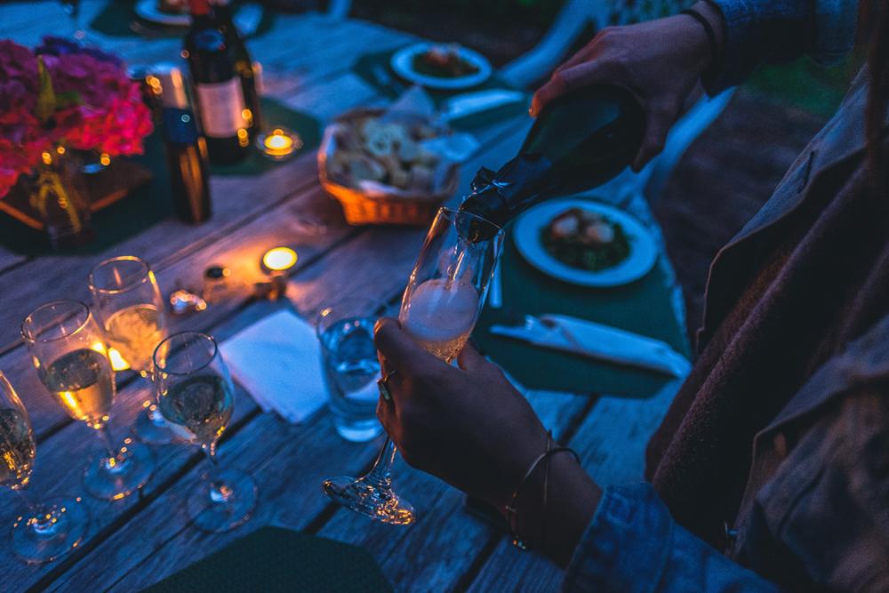 Separación matrimonial barcelona, cena