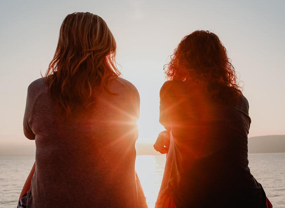 Terapia de separación para mujeres en barcelona, atardecer